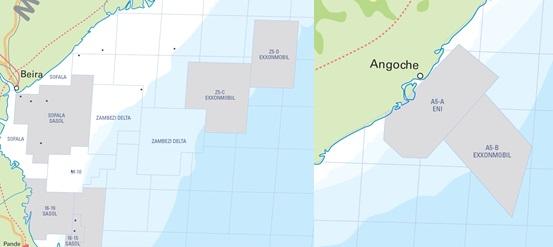 Mozambique Exploration Blocks